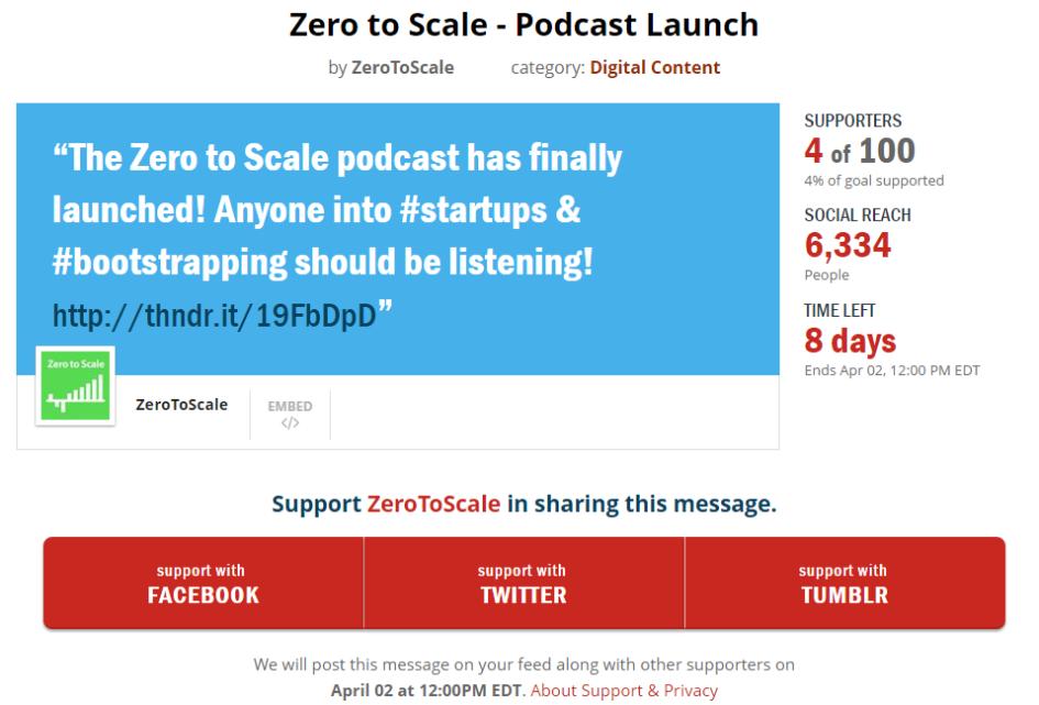 Zero to Scale launch